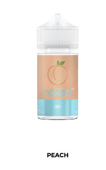 LÍQUIDO BASIC PEACH ICE - NAKED 100