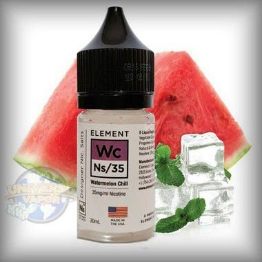LÍQUIDO ELEMENT SALT NICOTINE WATERMELON CHILL