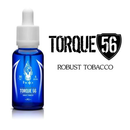 LÍQUIDO TORQUE 56 ROBUST TOBACCO - HALO