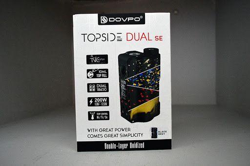 KIT DOVPO Topside Dual SE 200W Top Fill TC Squonk MOD