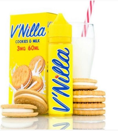 LÍQUIDO V'NILLA COOKIES & MILK - TINTED BREW LIQUID CO.