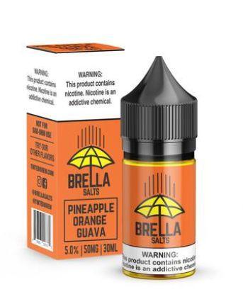 Líquido Nicsalt PineApple Orange Guava Brella Tinted Brew