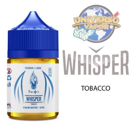 LÍQUIDO WHISPER SWEET TOBACCO - HALO