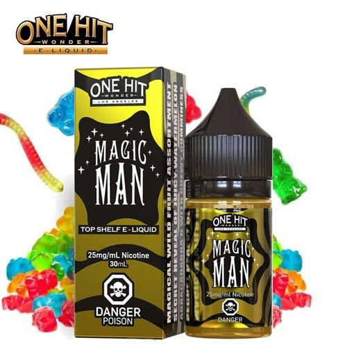 LIQUIDO MAGIC MAN 30ML - NICSALT - ONE HIT WONDER E-LIQUID