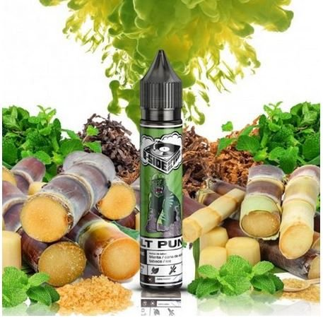 Líquido Juice Salt Punch - Mr Cane Mint - B-Side