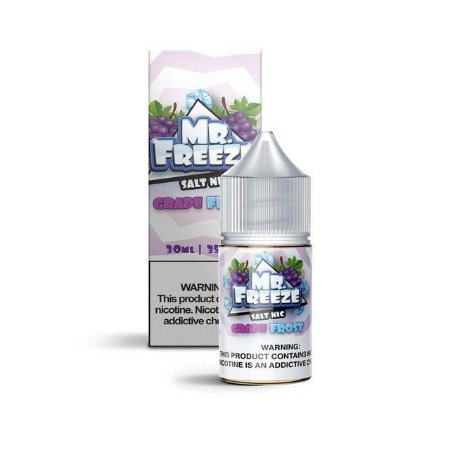 LÍQUIDO GRAPE FROST SALT NICOTINE - MR. FREEZE