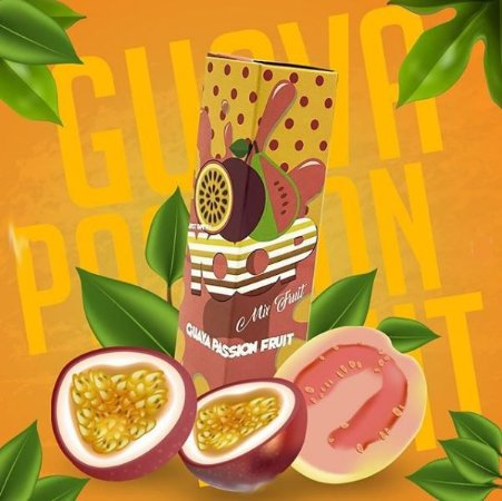LÍQUIDO GUAVA PASSION FRUIT - YOOP