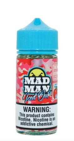 LIQUIDO STRAWBERRY ICED OUT - MAD MAN