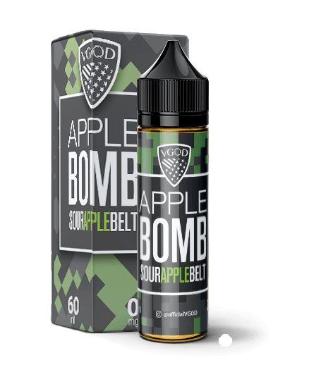 Líquido Apple Bomb Sour Apple Belt  Premium American - Vgod