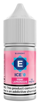 LÍQUIDO PINK LEMONADE ICE - SALT NICOTINE - ELEMENT