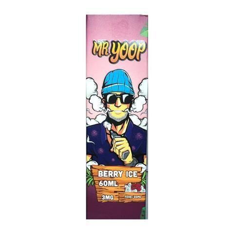 LÍQUIDO BERRY ICE - MR YOOP