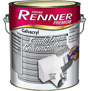 GALVACRYL FUNDO P/GALV 3,6L 245 - RENNER