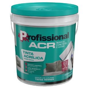 ACRILICO PROFISSIONAL FOSCO 18L 3001 BALDE - RENNER