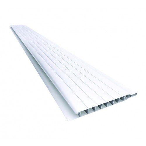 m² Forro PVC Plasflex 10cm x 7mm x 6mt branco