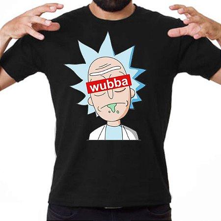 Camiseta Rick and Morty - Wubba