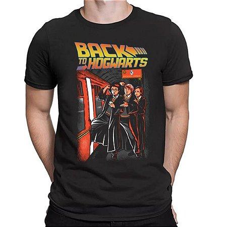 Camiseta Unissex - Back to Hogwarts