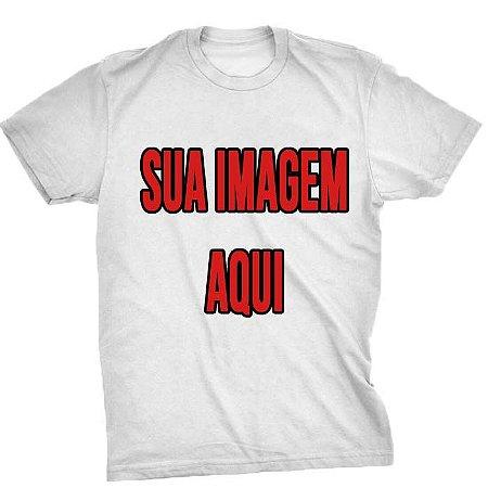 Camiseta Personalizada - Envie Sua Imagem Aqui
