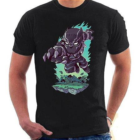 Camiseta Unissex - Pantera - Marvel