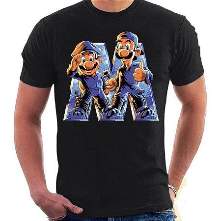 Camiseta Unissex - Mario - My Brother