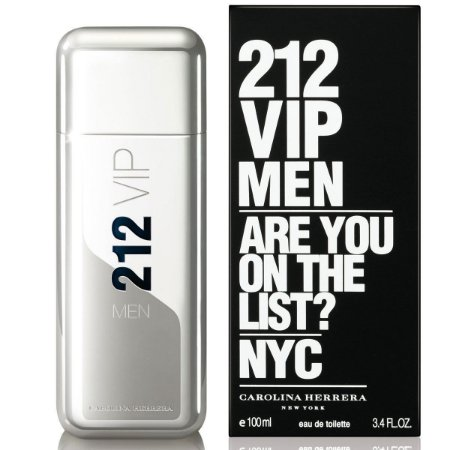 Perfume 212 Vip Men Eau De Toillete (EDT) Carolina Herrera - Masculino