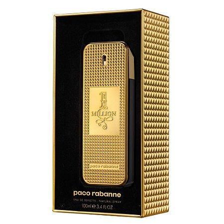 Perfume One Million Eau De Toilette Edição Limitada Paco Rabanne - Masculino