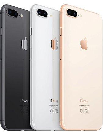 "Novo iPhone 8 Plus 256 GB, Tela Retina HD 5.5"" Polegadas, 4G, NFC, Cam 12mp, Chip A11 Bionic, 3D Touch ID, iOs 11"