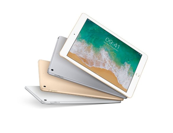 """iPad Prata, Cinza Espacial ou Dourado com Tela de 9,7"""", Wi-Fi + Celular 4G, 128 GB e Processador A9"""