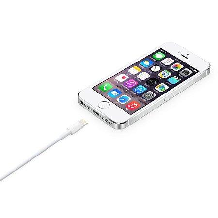 Carregador Cabo Lightning USB 1 metro para iPhone 5 / 5s / 5c / SE / 6 / 6s / 6 Plus / 6s Plus / 7 e 7 Plus