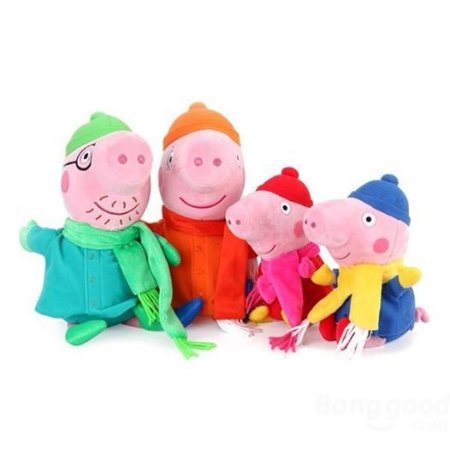 Família Peppa Pig - Inverno