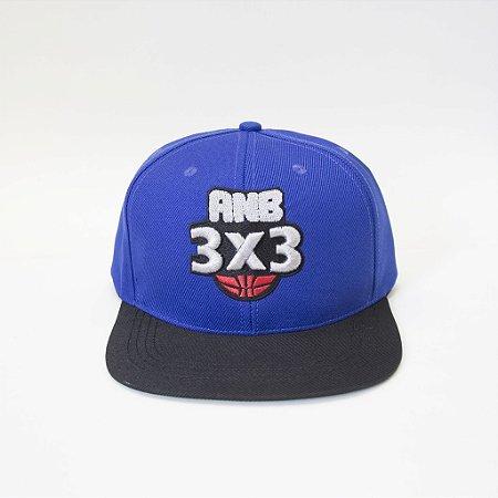 Boné ANB3X3 Snapback Azul/Preto
