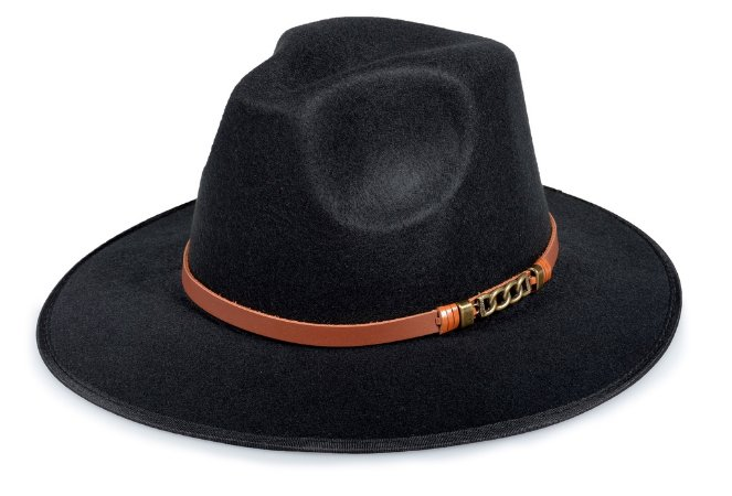 Chapéu Fedora Customizado Faixa Trançada Custom Hats