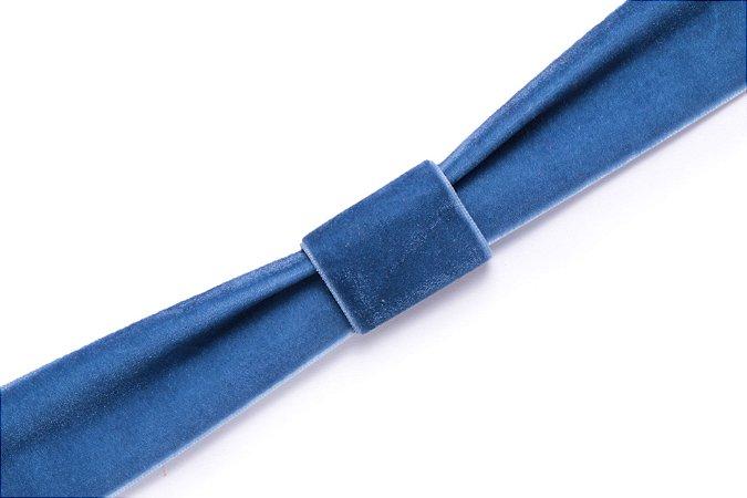 Faixa Azul Royal - Coleção Veludo