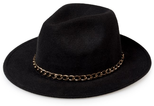 Chapéu Fedora Customizado Corrente Cobre Custom Hats