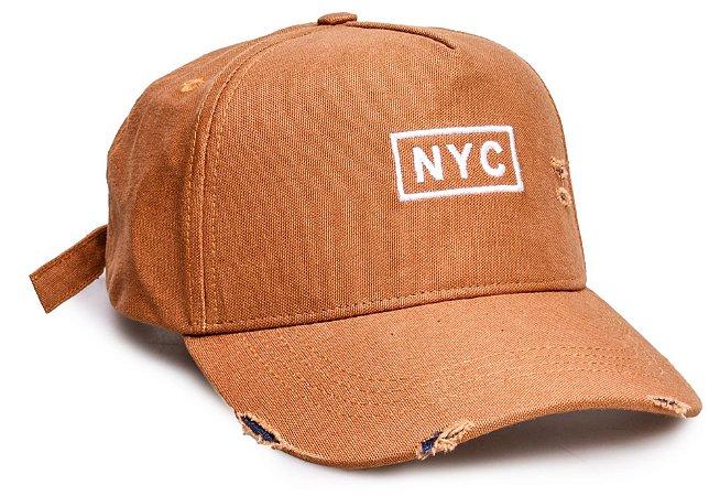 Boné NYC Caramelo Desfiado II