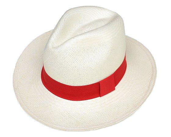 Chapéu Panamá Aba Grande Monteristi Dobrável Customizado