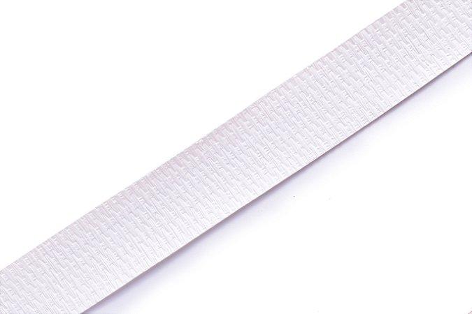 Faixa Couro Branco - Coleção Straw