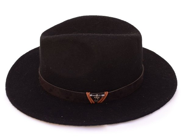 Chapéu Fedora Preto Custom Edição Limitada