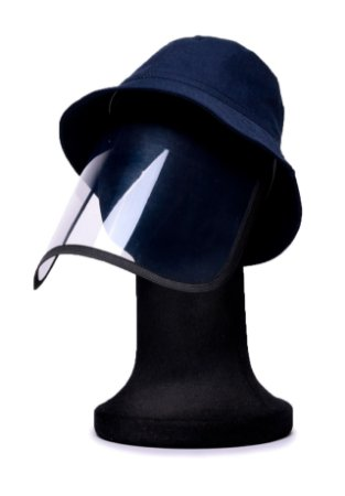 Chapéu Bucket Azul com Proteção