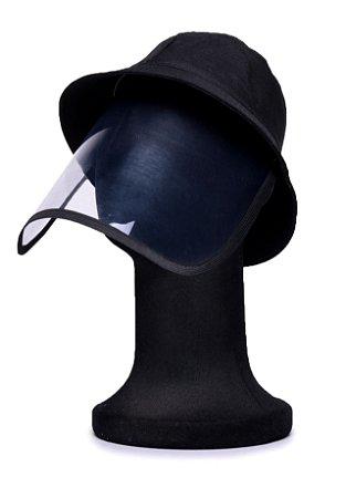 Chapéu Bucket Preto com Proteção