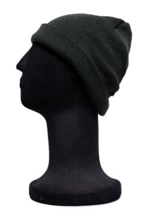 Touca Curta Verde Lisa