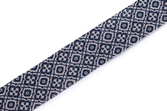 Faixa Azul e Branca Wide - Coleção Ethnic