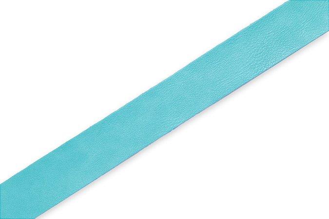 Faixa Azul Tiffany - Coleção Couro