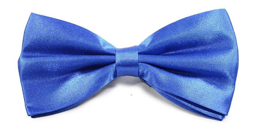 Gravata Borboleta Azul Royal