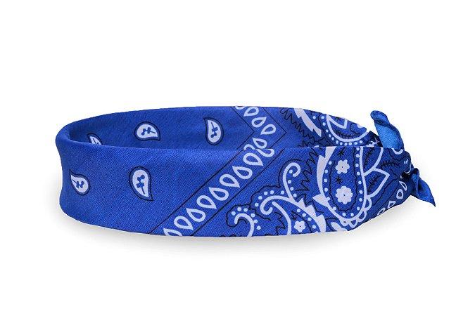Bandana Estampada Azul