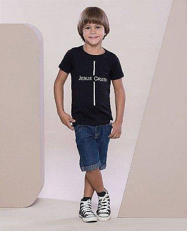 Camiseta Infantil Jesus Cristo
