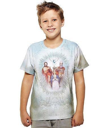 Camisa Infantil Divino Pai Eterno - Coleção Ágape