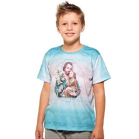 Camiseta Infantil São José - Coleção Ágape