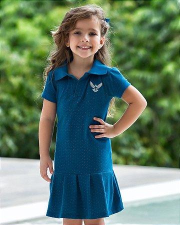 Vestido Infantil Polo Espírito Santo - Coleção Ágape