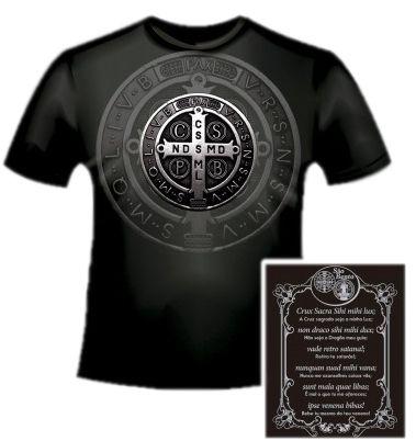 Camisa São Bento com Oração