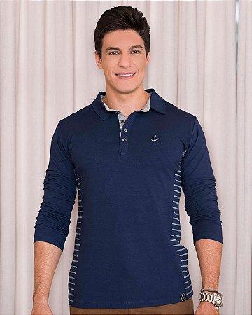 9edca31cf8fd0 Camiseta Gola Polo Fé - Coleção Ágape - Católicos na Moda